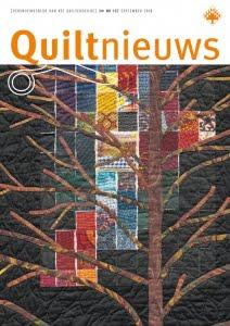 Voorkant Quiltnieuws 137 detail de Papagaai