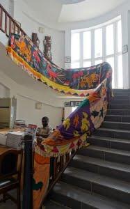 Asafo vlaggen in Accra