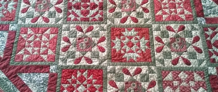 Quilt Day In Giverny - detail