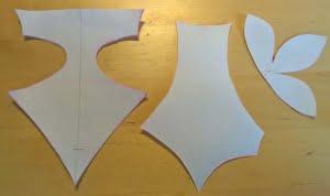 3 mallen naast elkaar