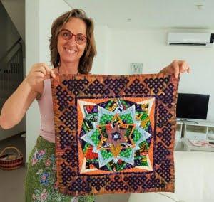 Mijn bijdrage aan de Afrikaanse Quilt Challenge