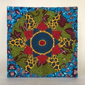 Quiltje in Afrikaanse kleuren