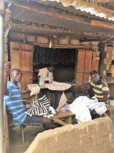 Fugu markt in Bolgatanga