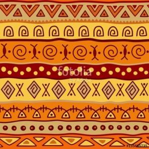 inspiratie Afrikaanse grafische patronen