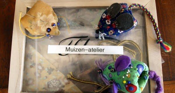 Vrolijke Muizenissen in mijn atelier.