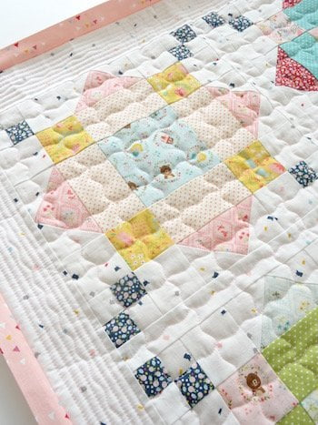 detail Rooftops quilt
