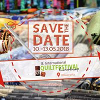 Save the date Quiltfestival Luxembourg
