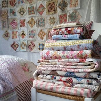 stapel quilts van Anja
