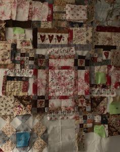 Een huis van een quilt met mijn inrichting
