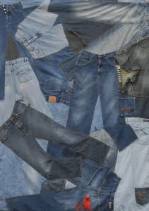 hergebruik spijkerbroeken
