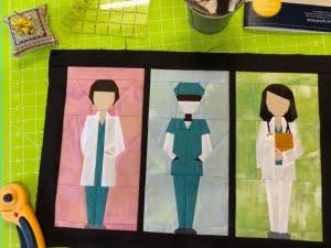 Project heroes, kussen voor verpleegkundige