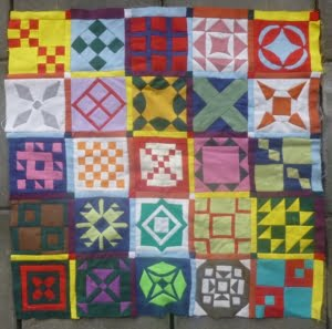 Dear Jane Sampler Quilt Rianne Doller