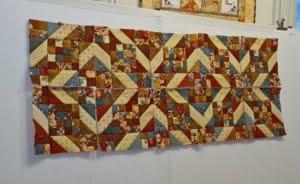 geometrisch rijtje blokken