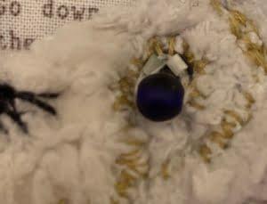 PB Alice in wonderland konijn oog